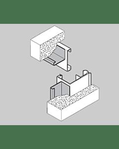 Hörmann Renovierungsblenden-Set (3 Blenden, je 3 m lang)