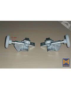 Hörmann N80 Rollenhalter mit Rolle