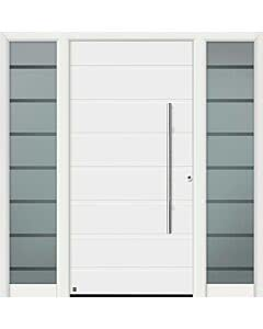 Hörmann Aluminium-Haustüre ThermoSafe (mit Seitenteil gegen Mehrpreis wählbar) Motiv 825, 845, 855