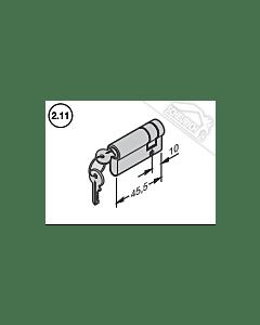 Hörmann Profil-Halbzylinder N80/F80/Schlupftür-Tor