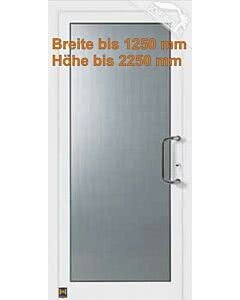 Hörmann Aluminium Haustür TopComfort Motiv 100 TC, Breite bis 1250 mm und Höhe bis 2250 mm