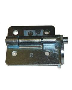 Hörmann Scharnierrollenhalter LPU rechts (von innen gesehen) aus Stahl - ohne Exzenter, ohne Laufrolle (Ersatzteile Tore)