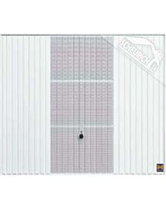 Hörmann Berry Schwingtor N80 Motiv 913 - glatte Oberfläche - Farbe weiß