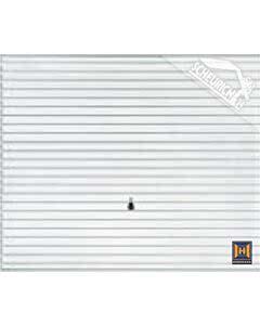Hörmann Berry Schwingtor N80 Motiv 968- glatte Oberfläche - Farbe weiß