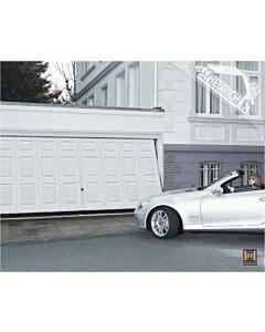 Hörmann Berry Schwingtor N80 Motiv 971 - glatte Oberfläche - Farbe weiß