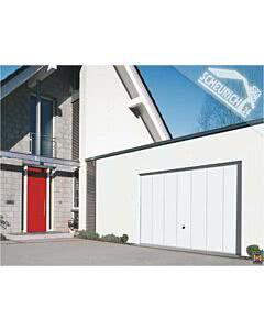 Hörmann Berry Schwingtor N80 Motiv 984 - glatte Oberfläche - Farbe weiß