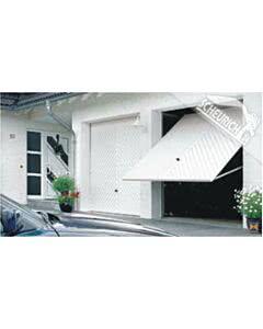 HÖRMANN Berry Schwingtor N80 Motiv 990 - glatte Oberfläche - Farbe weiß
