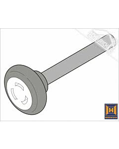 Hörmann Laufrolle mit 110 mm Achse