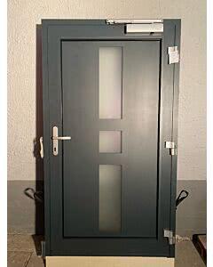 Einzelstück zur Abholung Klauke Aluminium-Haustüre SCH0038 1135x2010