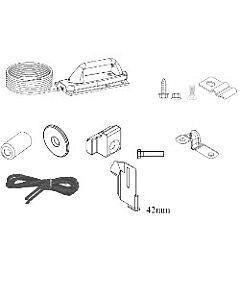 1 - Verriegelungsset für Normstahl Deckensektionaltor G30 von Baujahr 05/2005 bis 05/2006