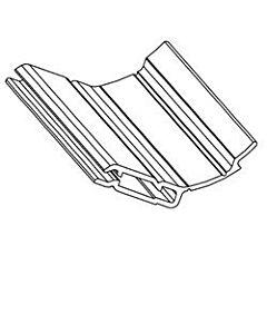 6 - Zargendichtung, Länge 2965mm für Normstahl Deckensektionaltor G60 ab Baujahr 02/2007 und G30 von Baujahr 08/2003 bis 01/2007