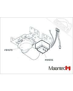 Marantec Gleichstrommotor, Comfort 220.2 blueline (Ersatzteile Torantriebe)