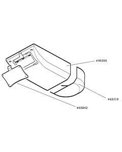 Marantec Antriebshaube, Comfort 257 (Ersatzteile Torantriebe)