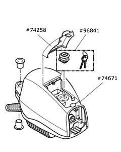Marantec Antriebsgehäuse mit Kabelanschluss, Comfort 515 (Ersatzteile Torantriebe)