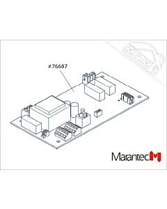 Marantec Platine Control x.base 230 V/1 PH, Dynamic xs.base (Ersatzteile Torantriebe)