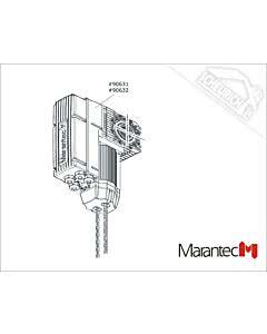 Marantec Dynamic xs.uni 75/24 KE/WE 230/400 V/3~/0,37/65, Dynamic xs.uni (Ersatzteile Torantriebe)