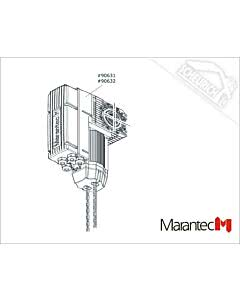 Marantec Dynamic xs.uni 60/24 KE/WE 230 V/1~/0,37/65, Dynamic xs.uni (Ersatzteile Torantriebe)