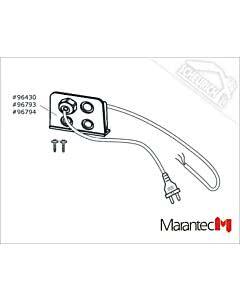 Marantec Netzkabel, 230 V, komplett (CH), Dynamic vario DC (Ersatzteile Torantriebe)