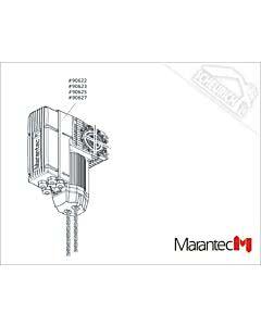 Marantec Dynamic xs.plus 60/24 KE/WE 230 V/1~/35/0,37/65, Dynamic xs.plus (Ersatzteile Torantriebe)