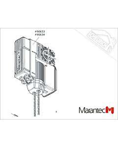 Marantec Dynamic xs.plus FU 125/24 KE/W 230 V/1 PH/0,55/65, Dynamic xs.plus (Ersatzteile Torantriebe)