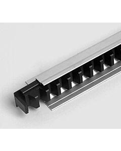 Marantec Special 443 (Modul 6) Kunststoff-Zahnstangensegmente im Aluminium-Abdeckprofil 2000 mm