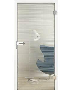 Hörmann Ganzglas Innentüren Glassline Glasart ESG Clear mit technischer Sandstrahlung, CleanEasy-Nanobeschichtung