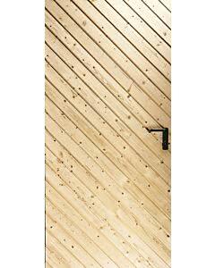 Novoferm Garagen-Nebentüre Typ Augsburg, ansichtsgleich zu Novoferm Schwingtoren aus Holz