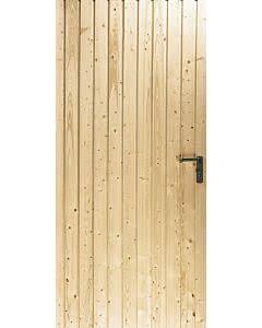 Novoferm Garagen-Nebentüre Typ Leipzig, ansichtsgleich zu Novoferm Schwingtoren aus Holz