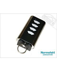 Normstahl Handsender 433 MHz Rolling Code, 4-Befehl, Mini Design 2012