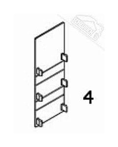 4 - Schutzkappe für Normstahl Noblesse 400 und Noblesse 800 Schiebetorantrieb
