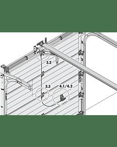 Notentriegelung (außen) NET2 für Sektionaltore