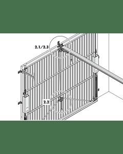 Notentriegelung (außen) NET1 für Schwingtore