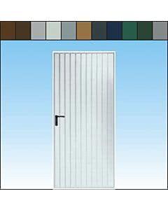 Novoferm Garagen-Nebentüre Typ Rees, farbig, ansichtsgleich zu Novoferm Schwingtoren aus Stahl