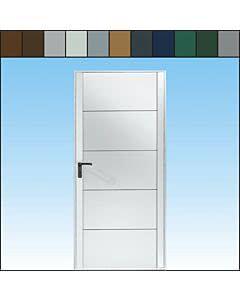 Novoferm Garagen-Nebentüre Typ Siegen, farbig, ansichtsgleich zu Novoferm Schwingtoren aus Stahl, Normgrößen