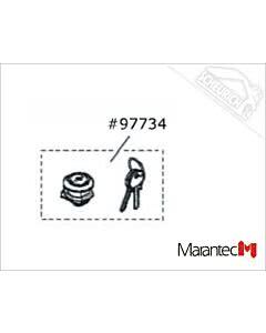 Marantec Schloß mit Schlüssel, Parc 100 (Ersatzteile Torantriebe)