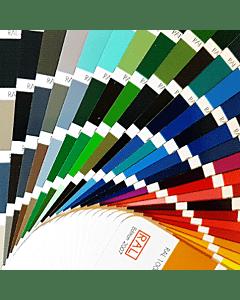 Farbmuster für Teckentrup Sektionaltore