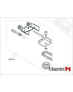 Marantec Umlenkung / Antriebsschiene , Antriebsschienen Comfort 211, 220.2, 250.2, 252.2 (Ersatzteile Torantriebe)