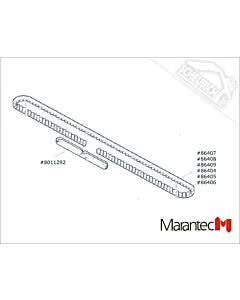 Marantec Verbindungs-Set Zahnriemen, Antriebsschienen Comfort 220, 250, 252 (Ersatzteile Torantriebe)