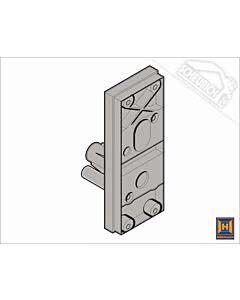Hörmann Schlossträger für Industrie-Sektionaltor BR 30 und BR 40, versch. Ausführungen wählbar (Ersatzteile Tore)