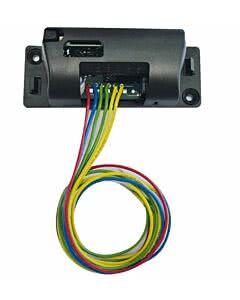 Sommer Funkempfängermodul im Gehäuse (2-Kanal), mit 112 Funkcodes und Kabel