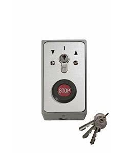 Sommer Schlüsselschalter im Metallgehäuse; Aufputz