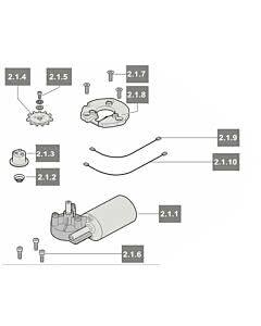 2.1 Sommer Motor 1100N,marathon 1100 SL (TORANTRIEBE)