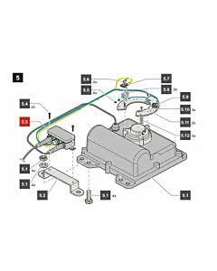 5.3 Sommer Verbindungskabelsatz jive 200, komplett, jive 200 (Ersatzteile Torantriebe)