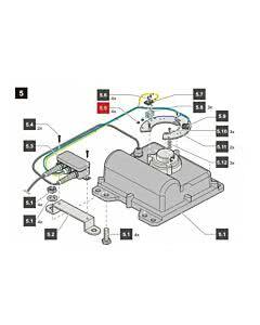 5.5 Sommer Sechkantmutter M2, ISO 4032 - A2-70, jive 200 (Ersatzteile Torantriebe)