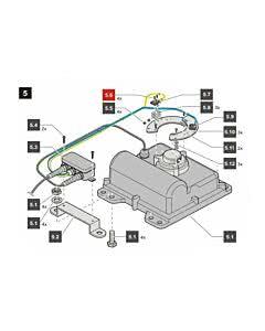 5.6 Sommer Flachkopfschraube M2 x 16, ISO 7045 - A2-70-H, jive 200 (Ersatzteile Torantriebe)