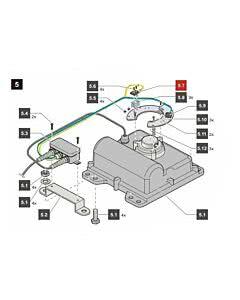 5.7 Sommer Endschalter Tor AUF, jive 200 (Ersatzteile Torantriebe)