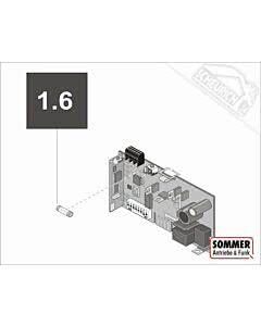 1.6 Feinsicherung 1 A-träge (VPE 10 Stück) (TORANTRIEBE)