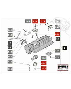2.1 Sommer Motor 550N-600N, komplett (New Drive) 550 sprint S, SL (TORANTRIEBE)