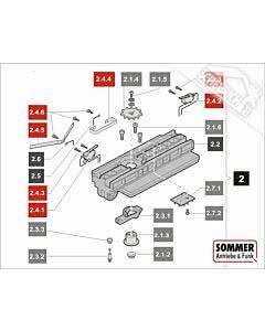 2.4 Sommer Laufwagen Service-Kit für Garagentorantriebe sprint 550 S, SL (TORANTRIEBE)