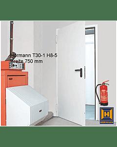 Hörmann T30-1 H8-5 einflügelige Brandschutztür/ Feuerschutztür Breite 750 mm
